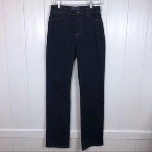 NYDJ straight leg jeans size 4 long length